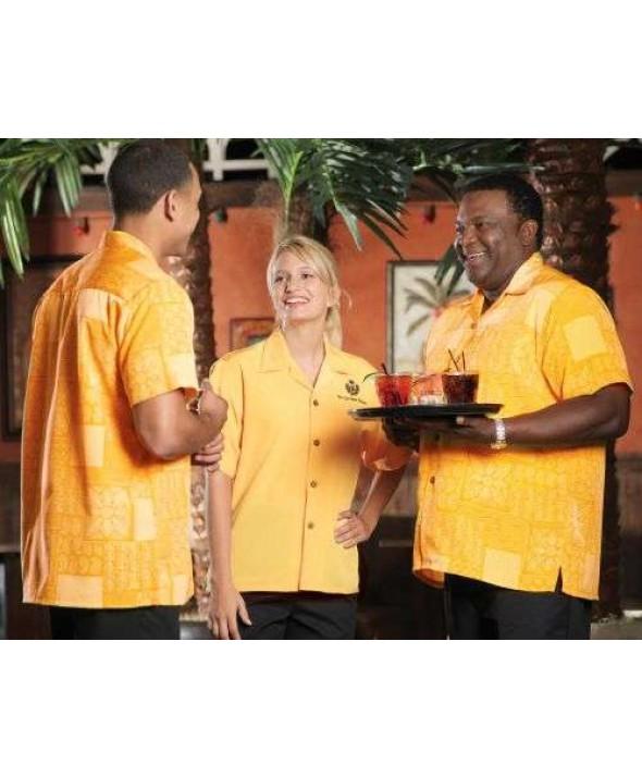 Edwards Garment 1019 South Seas Geometric Shirts (Short Sleeve)