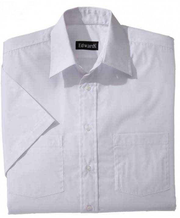 Edwards Garment 1110 Men's Traditional Broadcloth (Short Sleeve)