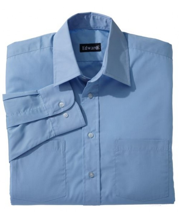 Edwards Garment 1160 Men's Traditional Broadcloth (Long Sleeve)