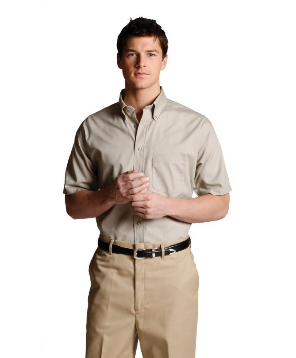 Edwards Garment 1230 Men's Festive Solids (Short Sleeve)