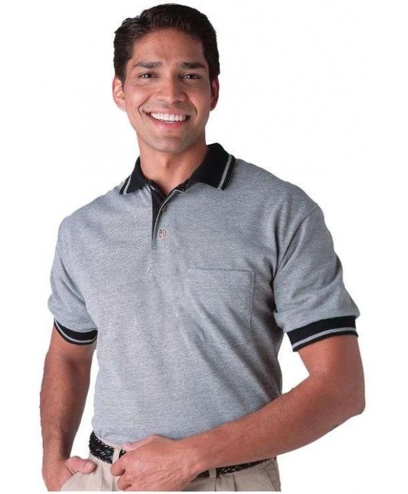 Edwards Garment 1455 Laundry Plus Pique Polos (Banded Short Sleeve)