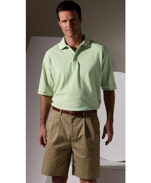 Edwards Garment 1530 Men's All Cotton Piques  (Short Sleeve)