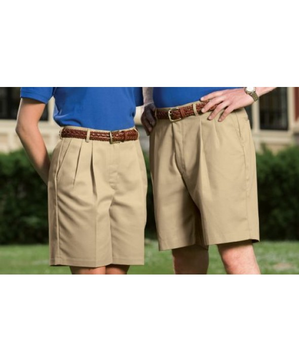 Edward 8419 Women's Pleated Front Shorts