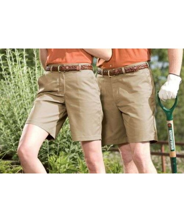 Edward 2450 Men's Plain Front Chino Shorts
