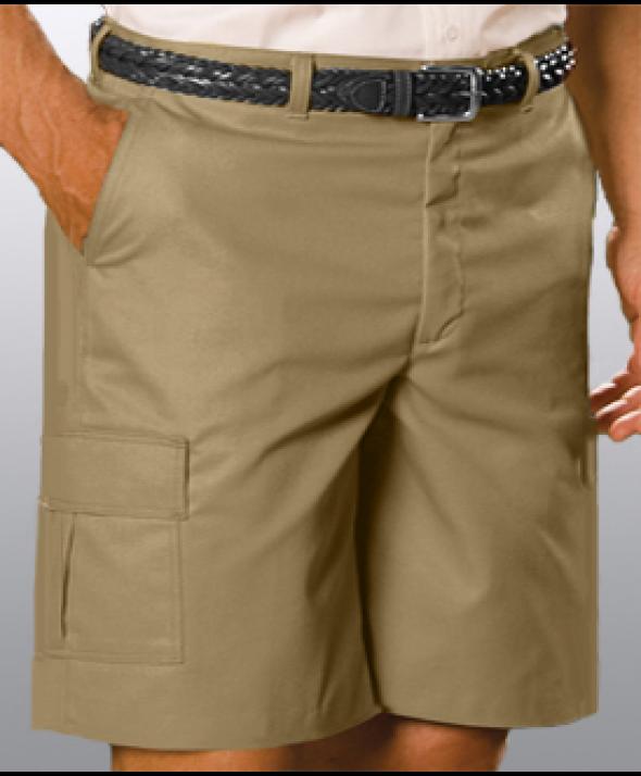Edward 2468 Men's Flat Front Cargo Utility Shorts