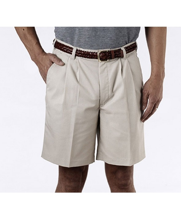 Edward 2470 Men's Pleated Chino Shorts