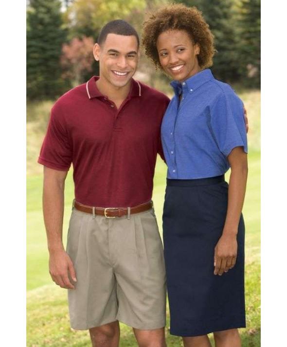 Edward 9792 Women's Microfiber Straight Skirt