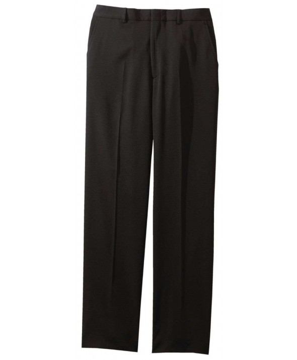 Edward 2550 Men's Classic Flat Front Polyester Pant
