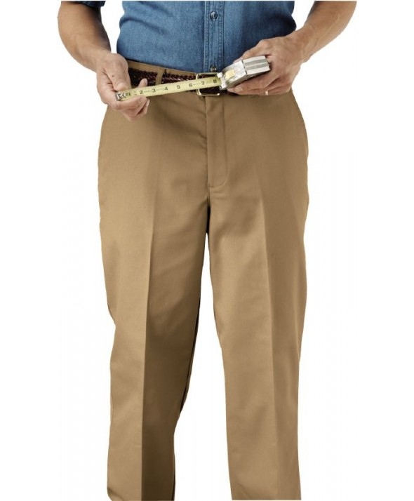 Edward 2577 Men's Utility Chino Pant (Flat Front)