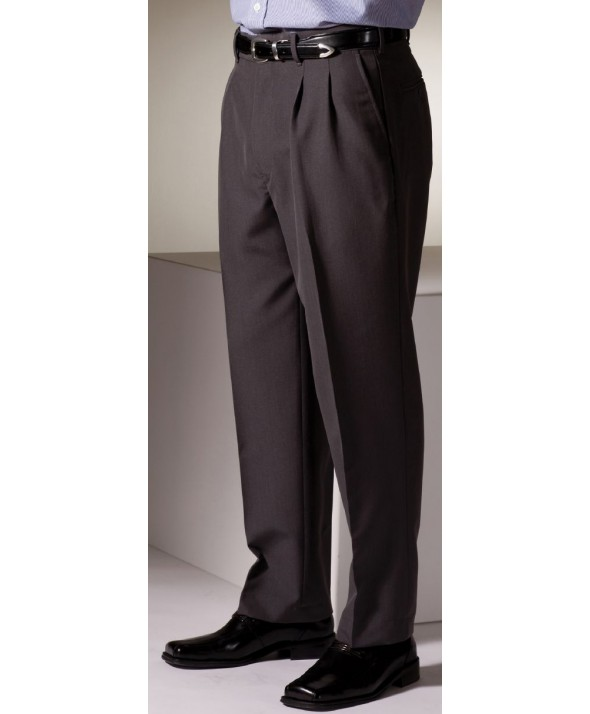 Edward 2650 Men's Pleated Front Pant