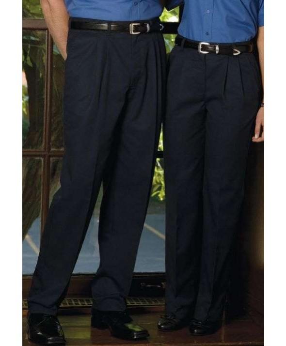 Edward 2670 Men's Pleated Chino Pant