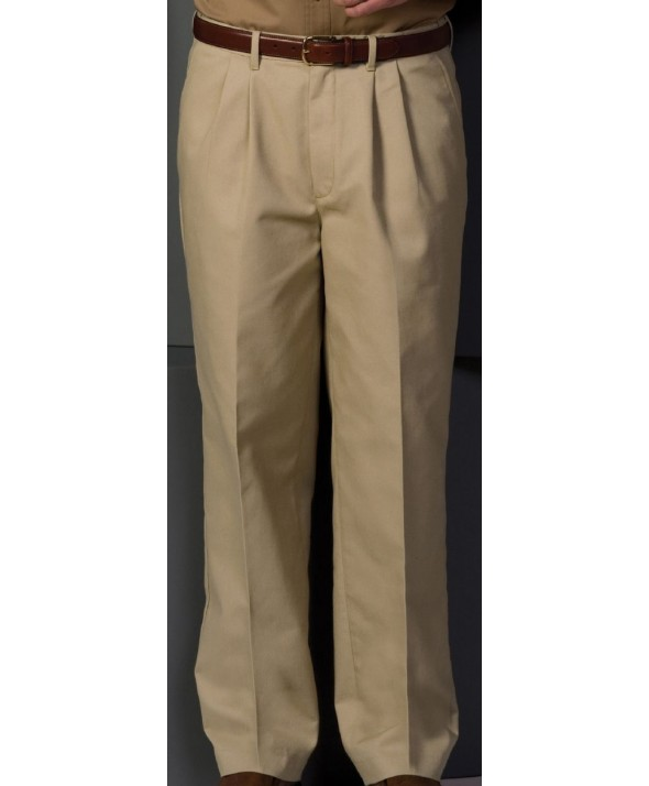 Edward 2678 Men's Pleated Easy Fit Chino Pant
