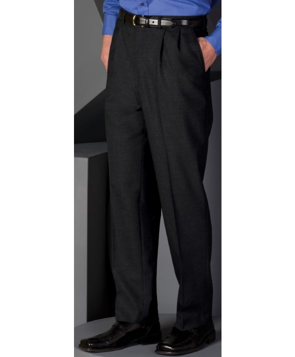Edward 2680 Men's Pleated Front Pant