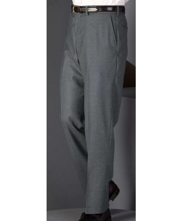 Edward 2780 Men's Plain Front Pant