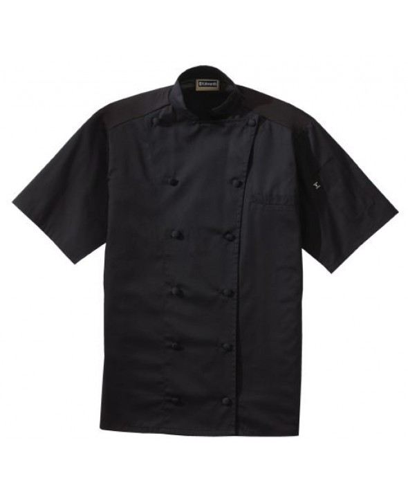 Edwards Garment 3331 Twelve Button Lightweight Chef Coat With Mesh