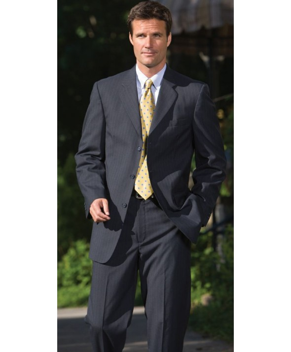 Edwards Garment 3660 Men's Pinstripe Suit Coat