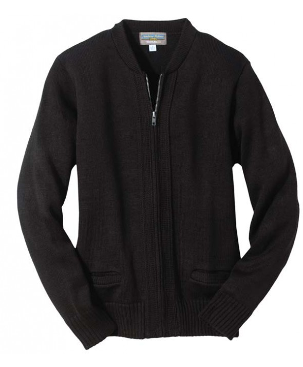 Edwards Garment 372 Zip FrontCardigans - Heavy Weight Acrylic