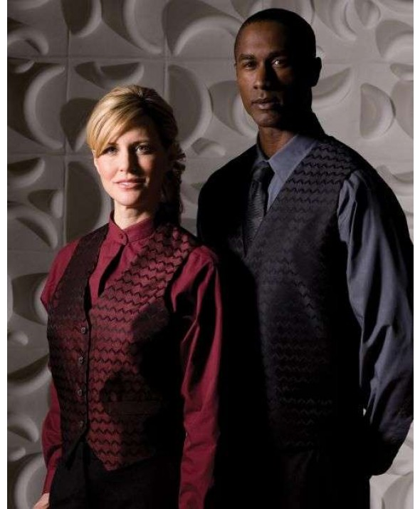 Edwards Garment 4391 Men's Brocade Swirl Vest