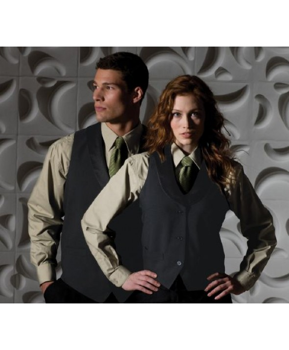 Edwards Garment 7495 Women's Satin Shawl Collar Vest