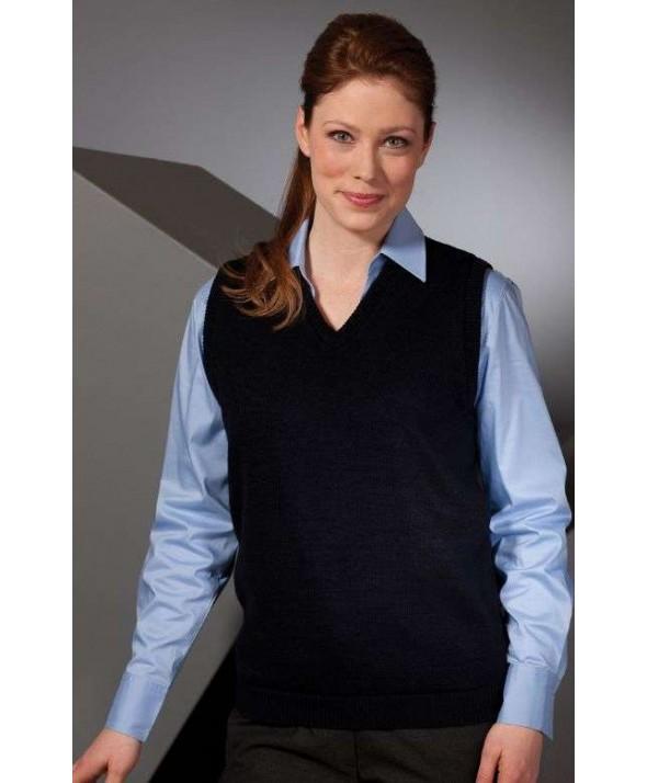 Edwards Garment 461 Women's V-Neck Sweaters Vest