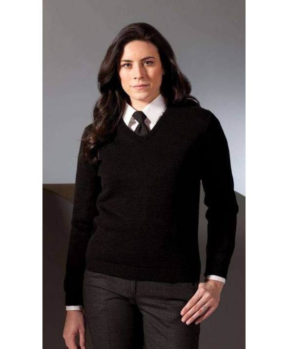 Edwards Garment 465 Women's V-Neck Sweaters