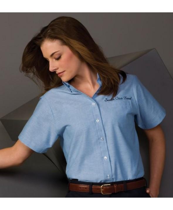 Edwards Garment 5027 Women's Oxford Shirts (Short Sleeve)