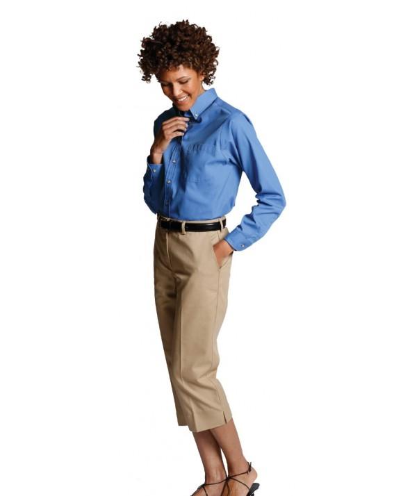 Edwards Garment 5280 Women's Festive Solids (Long Sleeve)