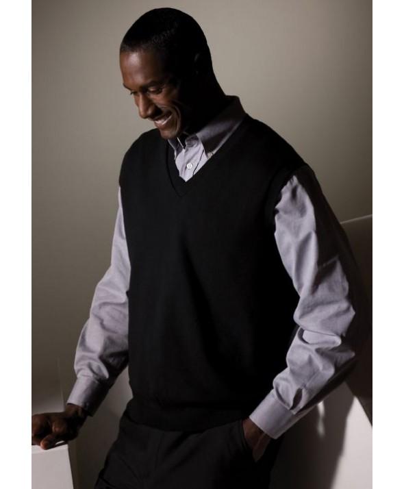 Edwards Garment 701 V-Neck Cross Over Sweaters Vest