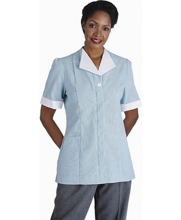 Edwards Garment 7275 Women's Junior Cord Housekeeping Tunic
