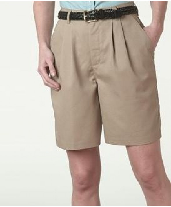 Edward 8479 Women's Pleated Chino Shorts