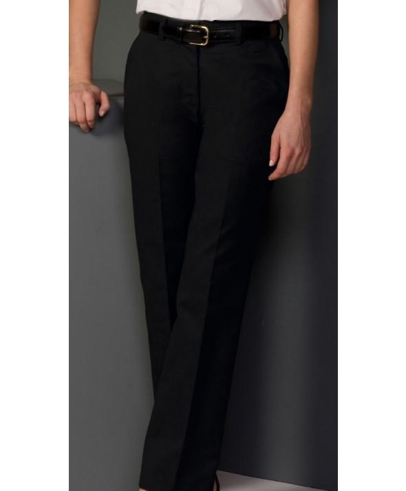 Edward 8579 Women's Flat Front Chino Pant