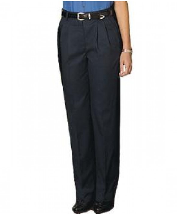 Edward 8679 Women's Pleated Chino Pant