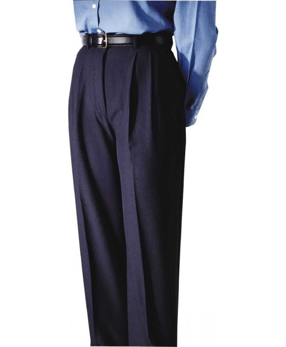 Edward 8691 Women's Pleated Polyester Pant