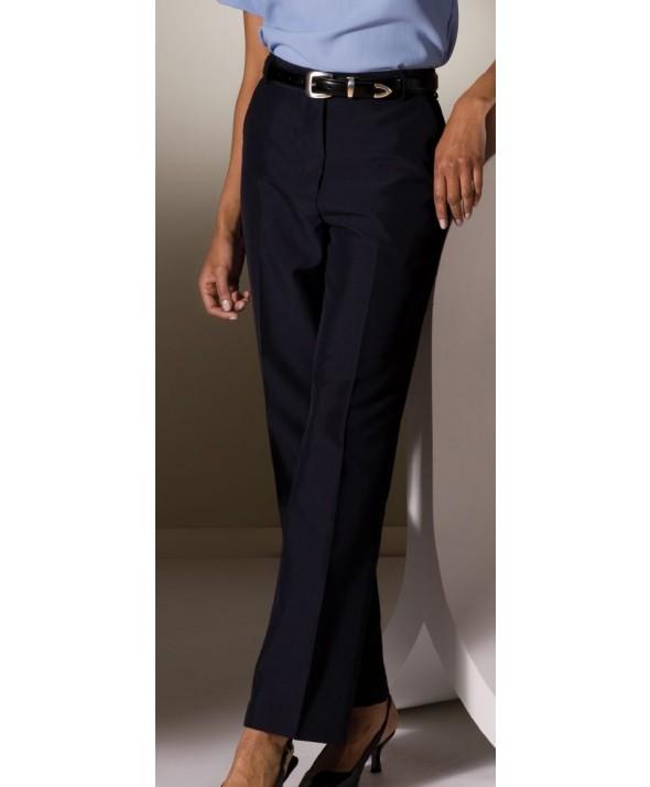 Edward 8759 Women's Plain Front Pant