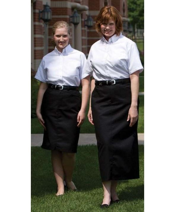 Edwards Garment 9779 Women's Long Chino Skirt