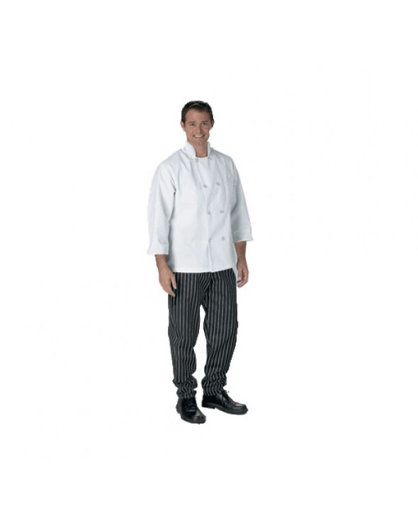 Eagle CCHDC CHEF COAT 3/4 sleeve