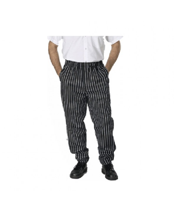 Eagle PTBAGZDC Baggie Chef Pant with Fly