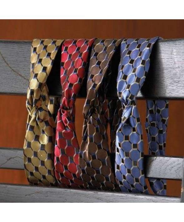 Edwards Garment HC60 Women's Loop Ascot Tie - Honeycomb