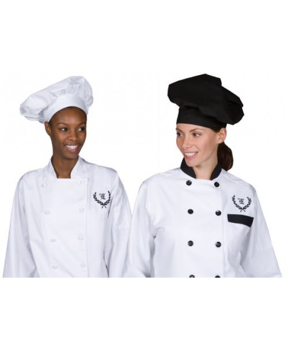 Edwards Garment HT00 Poplin Chef Hat
