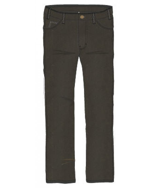 Dickies men's jean 5 pkt/paint/utility 12293RBB - Rinsed Overdyed Black