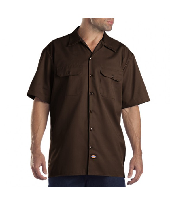 Dickies men's shirts 1574DB - Dark Brown
