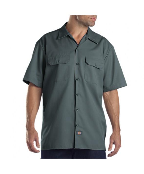 Dickies men's shirts 1574LN - Lincoln Green