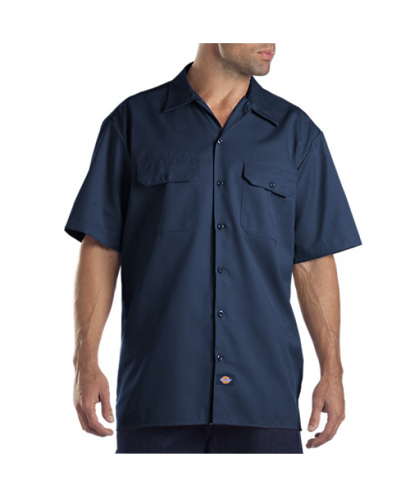 Dickies men's shirts 1574NV - Navy