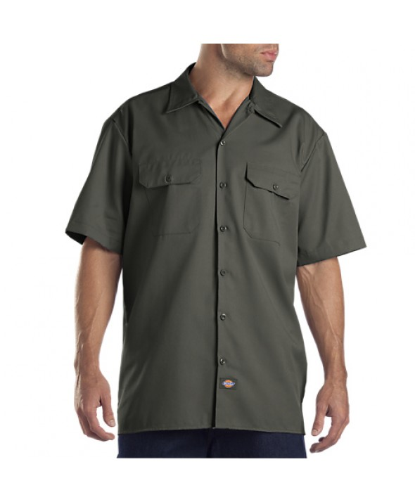 Dickies men's shirts 1574OG - Olive Green