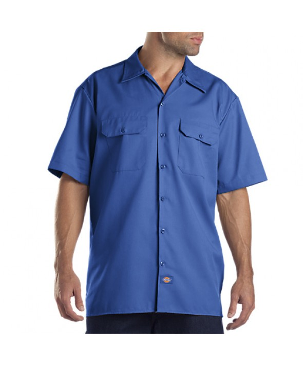 Dickies men's shirts 1574RB - Royal Blue