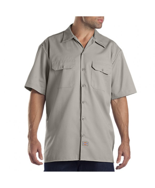 Dickies men's shirts 1574SV - Silver