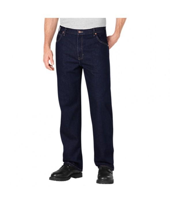 Dickies men's pants 18293RNB - Rinsed Indigo Blue