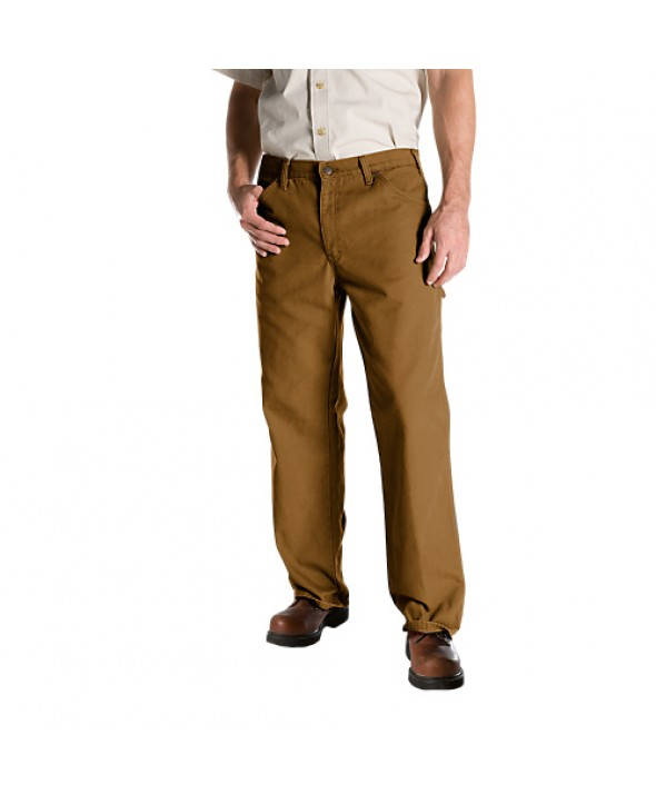Dickies men's jean 5 pkt/paint/utility 1939RBD - Rinsed Brown Duck