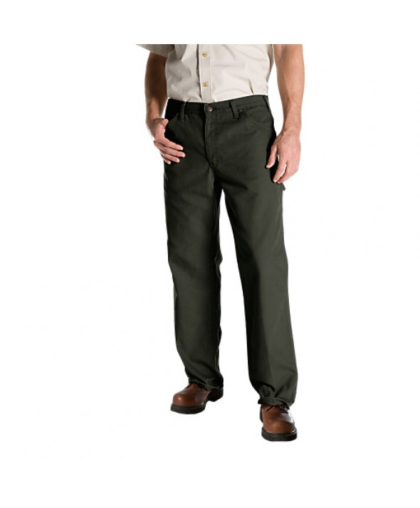 Dickies men's jean 5 pkt/paint/utility 1939RMS - Rinsed Moss Green