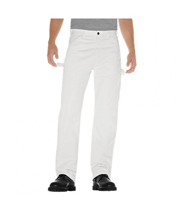 Dickies men's jean 5 pkt/paint/utility 1953WH - White